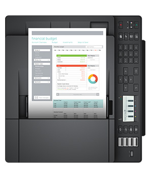 Dell Color Multifunction Printer - E525w - Filled with comprehensive productivity features