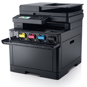 Dell Color Cloud Multifunction Printer - H625cdw | Easy maintenance and low energy consumption