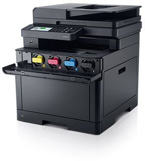 Dell Color Cloud Multifunction Printer - H825cdw | Count on easy maintenance
