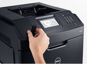 Dell Smart Printer - S5830dn   Simple to use