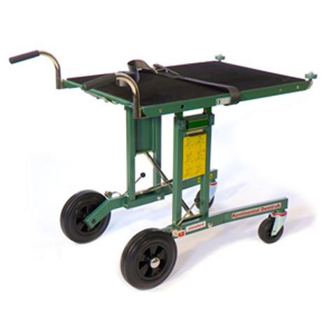 Demtruk 500lb Capacity Folding Cart with 33 Inch roll-off platform