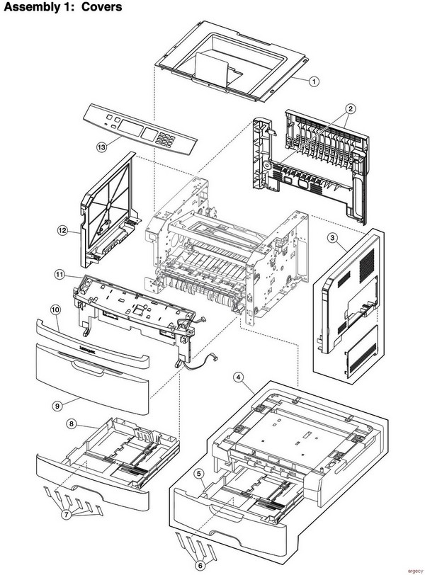 lexmark replacement parts diagram search for wiring diagrams u2022 rh idijournal com lexmark parts manual x658de lexmark parts manual x658de