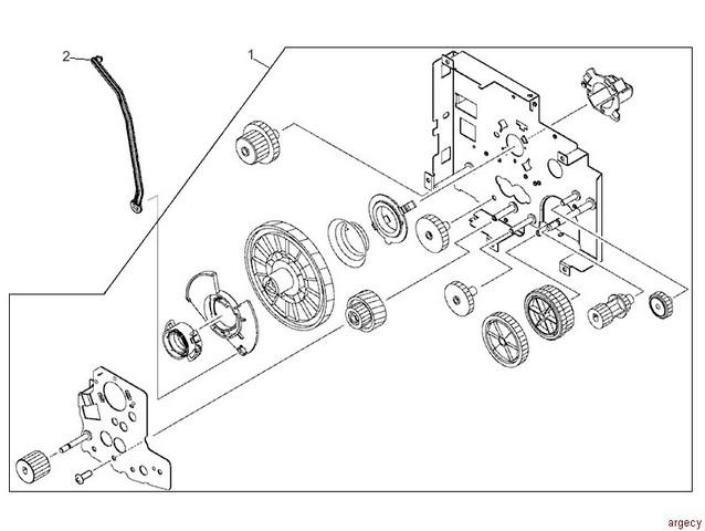 hp 4300 parts