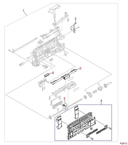 http://www.argecy.com/images/hp_4300_tray_1_paper_input_assembly.jpg