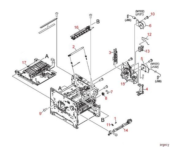 hp 4350 parts