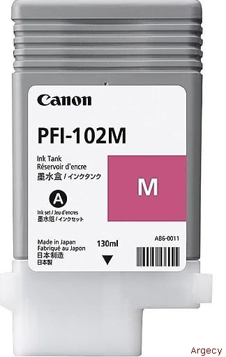 Canon PFI-102M (New) - purchase from Argecy