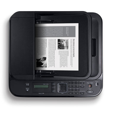 Dell 1135n Multifunction Network Laser Printer - Excellent usability and long-term reliability
