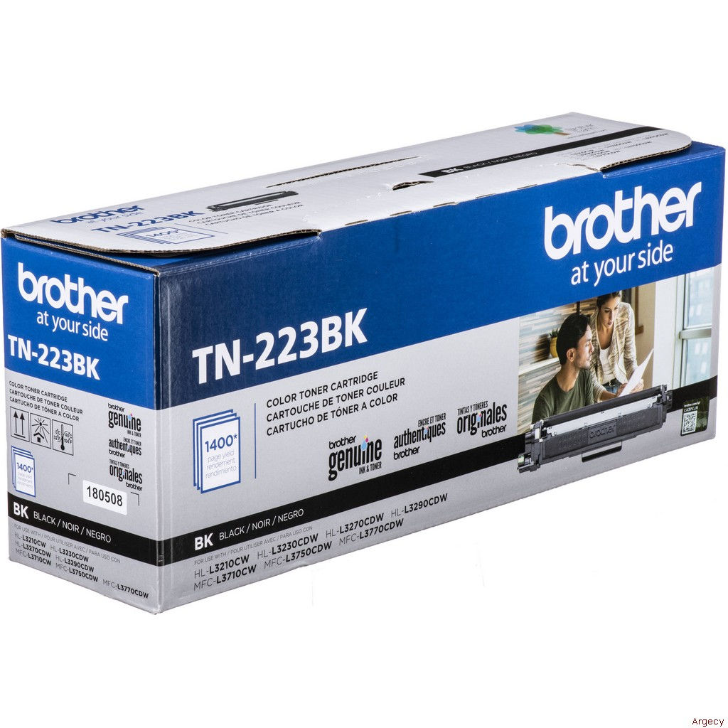 Brother TN223BK (New) - purchase from Argecy