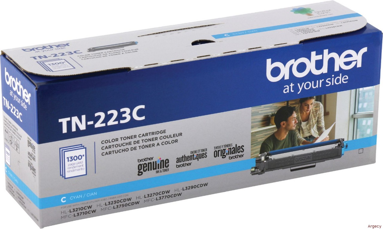 Brother TN223C (New) - purchase from Argecy