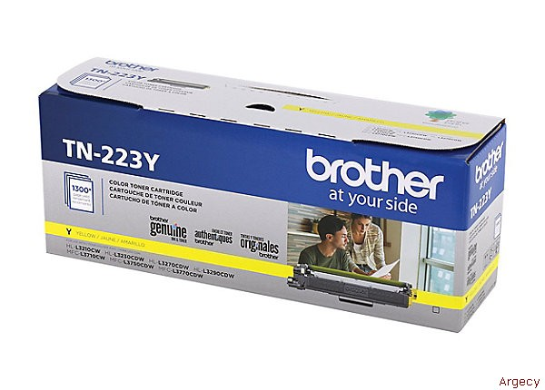 Brother TN223Y (New) - purchase from Argecy