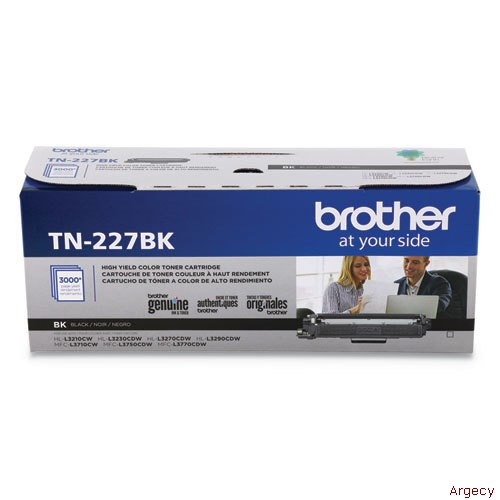 Brother TN227BK (New) - purchase from Argecy