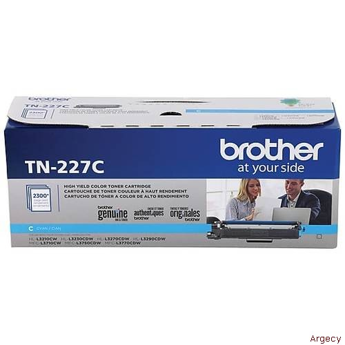 Brother TN227C (New) - purchase from Argecy