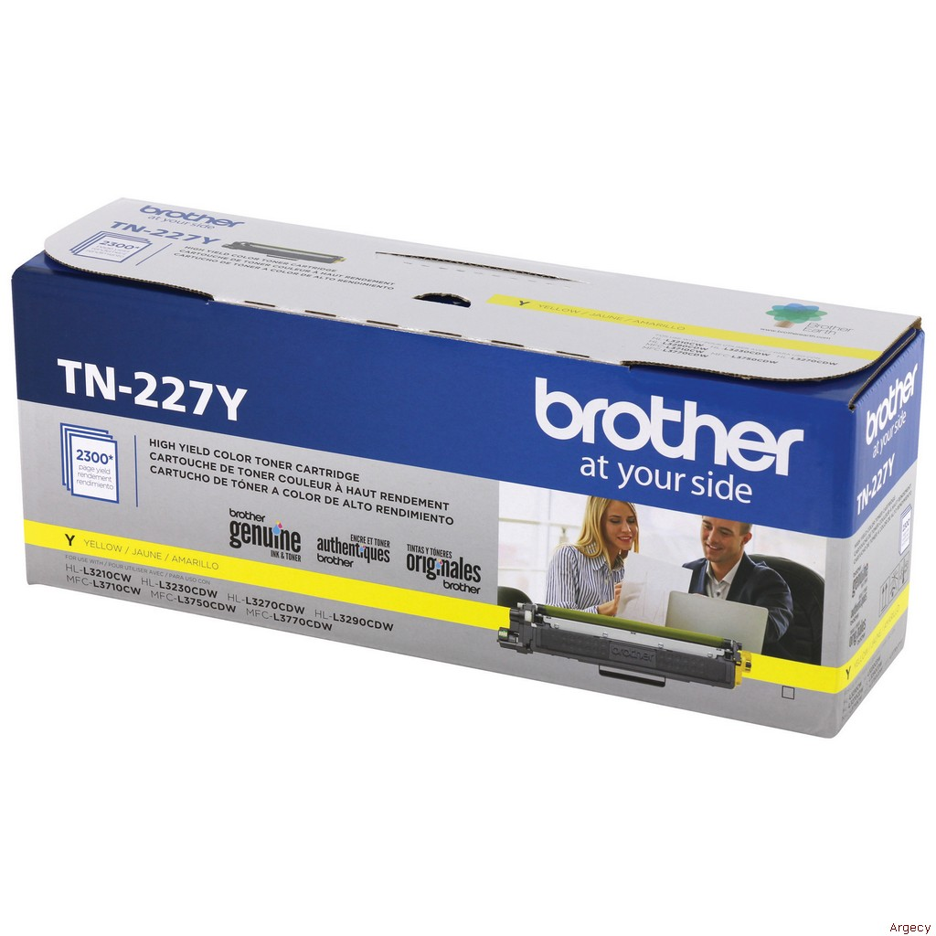 Brother TN227Y (New) - purchase from Argecy
