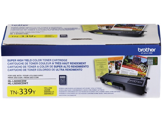 Brother TN339Y 6000 Page Yield Compatible (New) - purchase from Argecy