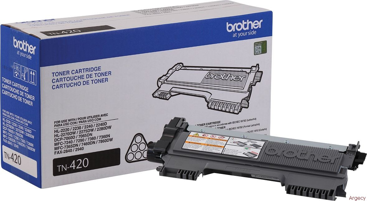 Brother TN420 (New) - purchase from Argecy