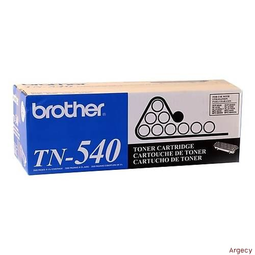 Brother TN540 570 6K Page Yield Compatible (New) - purchase from Argecy
