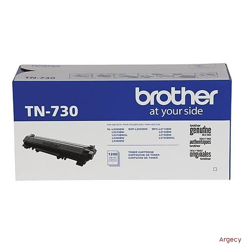 Brother TN730 TN760 3K Page Yield Compatible (New) - purchase from Argecy