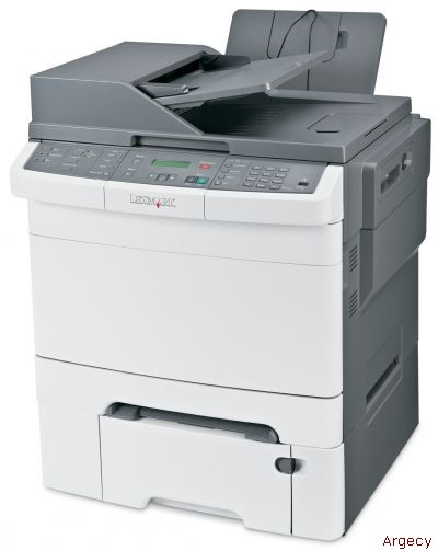 Lexmark X544dtn Color Multi Function Printer